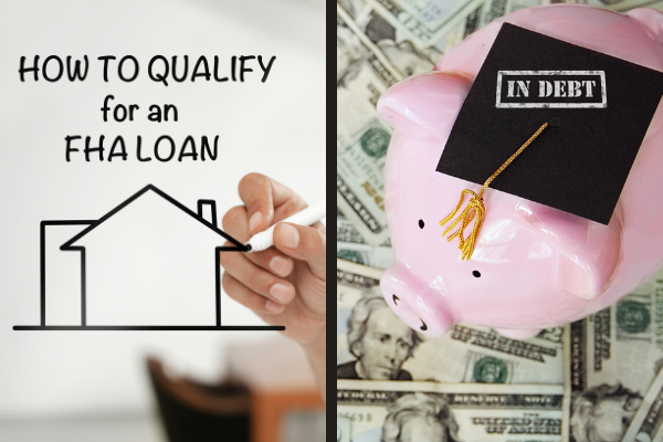 Borrowers With Student Loans Might Have An Easier Time Qualifying For An FHA Loan